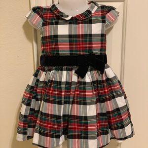 Carter's toddler girl dress check print size 2T
